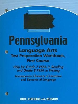 Pennsylvania Language Arts Test Preparation Workbook, First Course