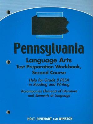 Pennsylvania Language Arts Test Preparation Workbook, Second Course
