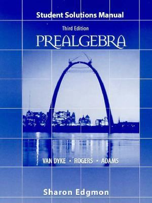 Prealgebra Student Solution Manual