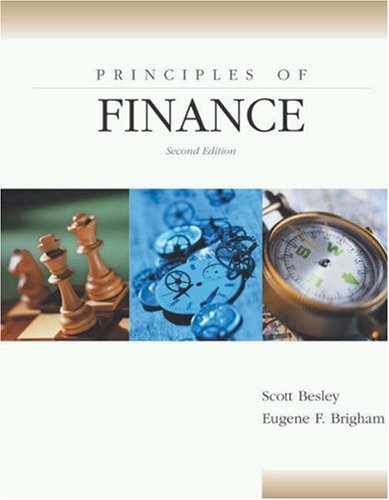 Principles of Finance [With CDROM]