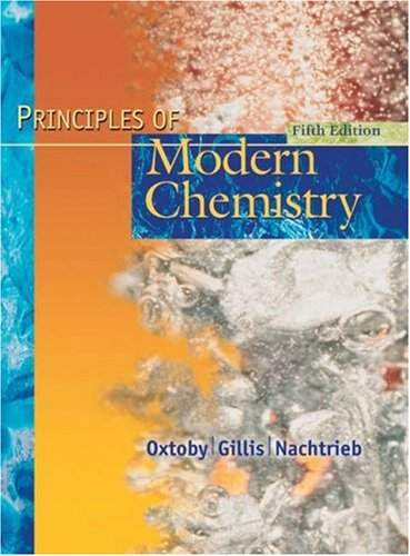 Principles of Modern Chemistry - 5th Edition
