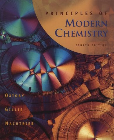 Principles of Modern Chemistry 9780030244278