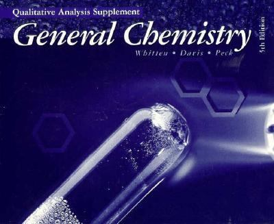 Quality Supplement T/A General Chemistry