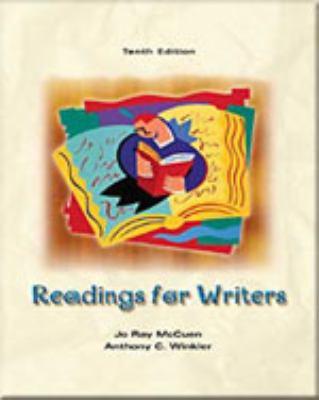 Readings for Writers, School Binding