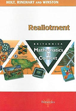 Reallotment: Britannica Mathematics in Context