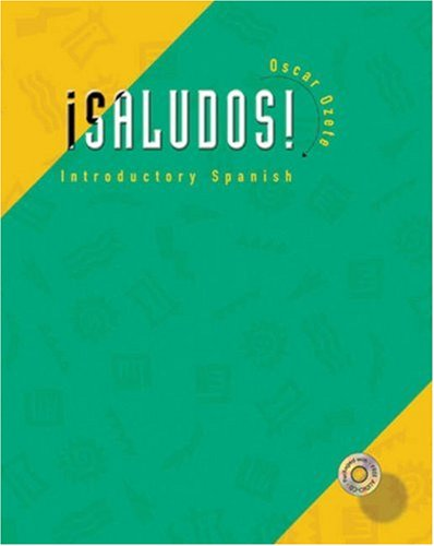 Saludos!: Introductory Spanish [With CD (Audio)]
