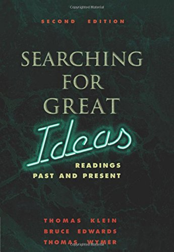 Searching for Great Ideas: Readings Past and Present - 2nd Edition