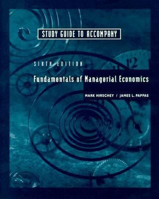 Sg T/A Fund of Managerial Economics 63