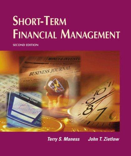 Short-Term Financial Management