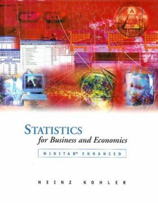 Statistics for Business and Economics Minitab Enhanced [With Student CD-ROM]