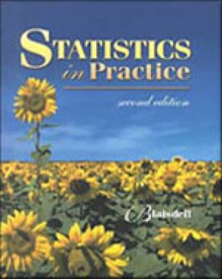 Statistics in Practice [With Disk]