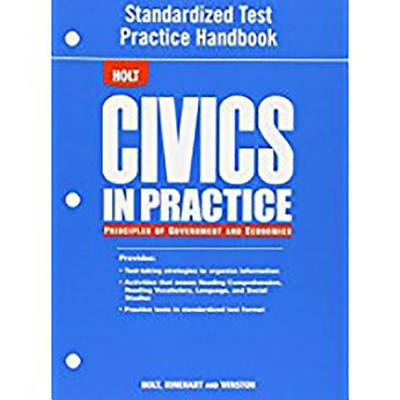 Std Tst Prep Hndbk Civics in Prac 2007