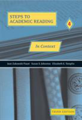 Steps to Academic Reading 4: In Context
