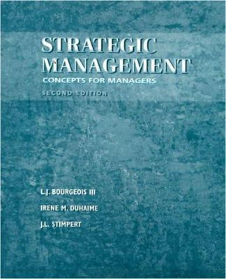 Strategic Management: A Managerial Perspective