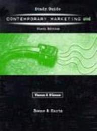 Study Guide to a Contemporary Marketing