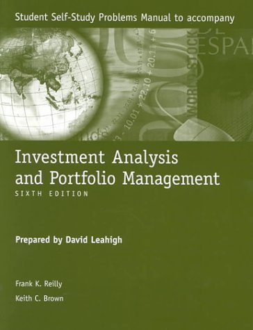 Study Pro to Accompany Investment Analysis and Portfolio Management