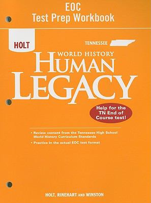 Tennessee Holt World History Human Legacy EOC Test Prep Workbook