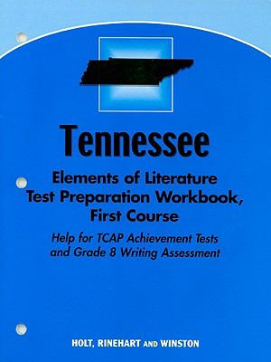 Tennessee Test Preparation Workbook, First Course: Help for TCAP Achievement Tests and Grade 8 Writing Assessment