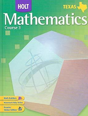 Texas Holt Mathematics, Course 3