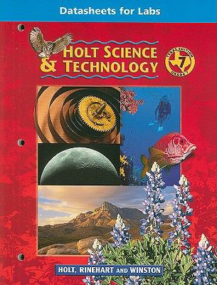 Texas Holt Science & Technology Datasheets for Labs, Grade 7
