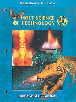 Texas Holt Science & Technology Datasheets for Labs, Grade 8