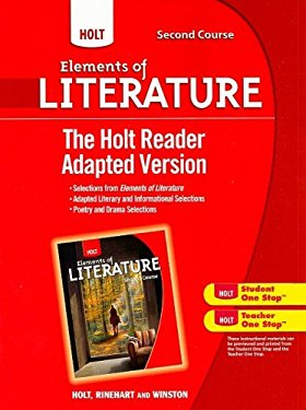 The Holt Reader Adapted Version, Second Course