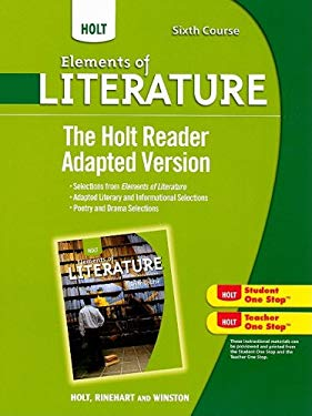 The Holt Reader Adapted Version, Sixth Course