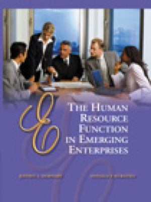 The Human Resource Function in Emerging Enterprises