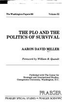The PLO and the Politics of Survival