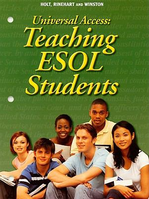 Universal Access: Teaching ESOL Students