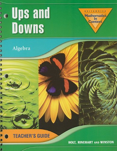 Ups and Downs: Algebra