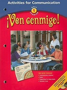 Ven Conmigo! Activities For Communication
