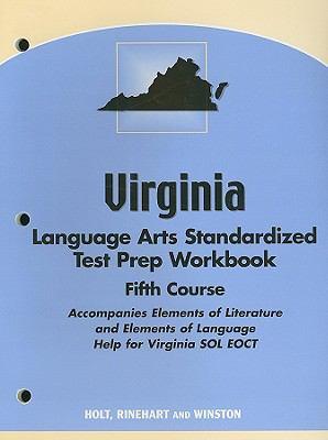 Virginia Language Arts Standardized Test Prep Workbook, Fifth Course