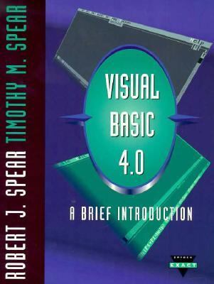 Visual Basic 4.0: A Brief Introduction