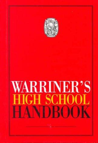 Warriner's High School Handbook 9780030540097