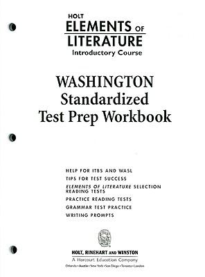 Washington Elements of Literature: Introductory Course Standardized Test Prep Workbook