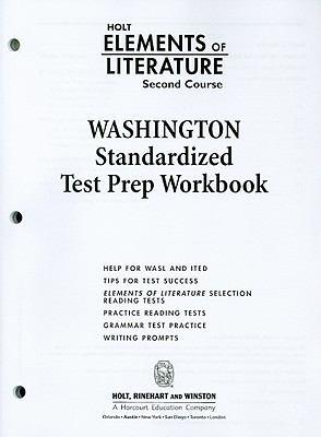Washington Elements of Literature: Second Course Standardized Test Prep Workbook