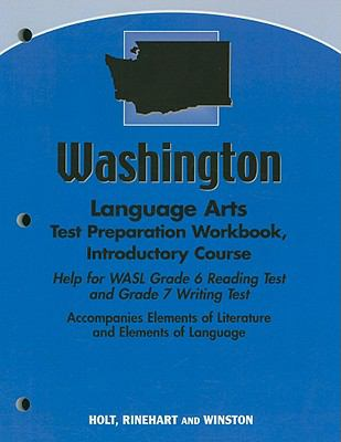 Washington Language Arts Test Preparation Workbook, Introductory Course: Help for WASL Grade 6 Reading Test and Grade 7 Writing Test
