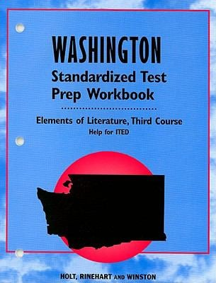 Washington Standardized Test Prep Workbook, Third Course: Help for ITED