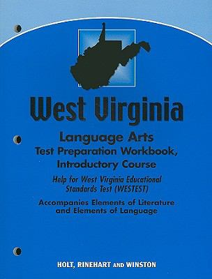 West Virginia Language Arts Test Preparation Workbook, Introductory Course