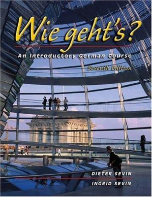 Wie Geht's?: An Introductory German Course [With CD (Audio)]