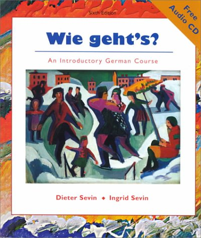 Wie Geht's?: An Introductory German Course [With CD]
