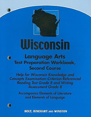 Wisconsin Language Arts Test Preparation Workbook, Second Course