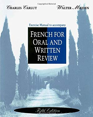 Workbook/Lab Manual for French for Oral and Written Review, 5th