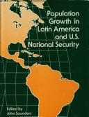 Population Growth in Latin America and U.S. National Security