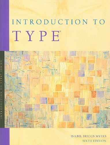 Introduction to Type: A Guide to Understanding Your Results on the MBTI Instrument 9780050436073