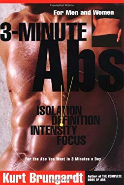 3-Minute ABS: Achieving the Look You've Always Wanted in Only 3 Minutes a Day 9780060952709