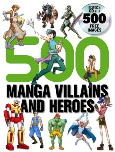 500 Manga Villains and Heroes 9780061968808