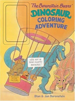 The Berenstain Bears' Dinosaur Coloring Adventure [With Jumbo Crayons]