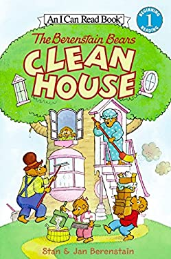 The Berenstain Bears Clean House [With Stickers]